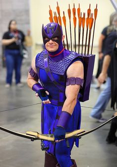 Hawkeye (Clint Barton) 2011 Phoenix Comicon  -  Honestly one of the best cosplays ive ever seen. Especially for Hawkeye!