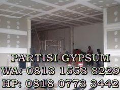 harga pasang plafon dan partisi gypsum 0813 1558 8229: harga pasang partisi gypsum 0813 1558 8229