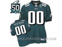 http://www.nikejordanclub.com/customized-philadelphia-eagles-jersey-green-team-color-with-team-50th-patch-mjiim.html CUSTOMIZED PHILADELPHIA EAGLES JERSEY GREEN TEAM COLOR WITH TEAM 50TH PATCH MJIIM Only $60.00 , Free Shipping!