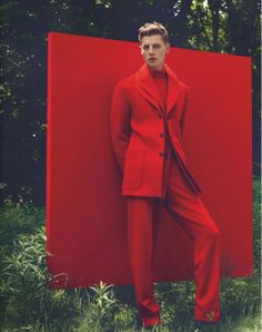 Janis Ancens by Jacob Sutton For Numéro Homme