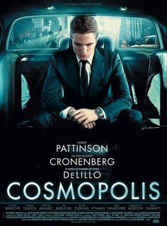 """Robert Pattinson With His Chanel J12 Chromatic 4 in the upcoming """"Cosmopolis"""""""