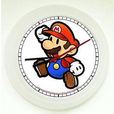 Super Mario Wanduhr für das Kinderzimmer