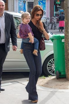 Out with Mom in Paris.   - ELLE.com