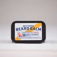 BEARD BALM Made with superior grade ingredients.  Helps moisturizer and protect a mans beard and the face underneath it.  Pleasant , woodsy fragrance.