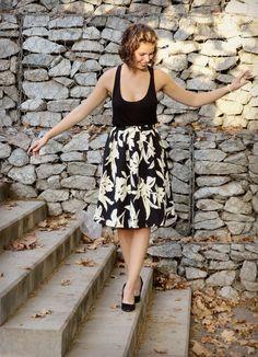 One last summer outfit before we start embracing fall season // http://elvestidonegro.de