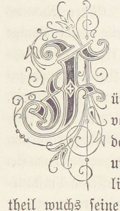 Image taken from page 551 of 'Die Maitressenwirthschaft in Frankreich unter Ludwig XIV. Pracht-Ausgabe' (The British Library) Tags: typography small letter publicdomain bldigital mechanicalcurator pubplacestuttgart griesingertheodor Hand Lettering Fonts, Creative Lettering, Graffiti Lettering, Lettering Styles, Lettering Design, Alphabet Letters Design, Monogram Letters, Illuminated Letters, Illuminated Manuscript