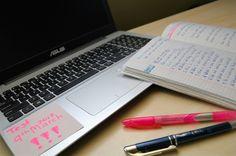Studyblr, studing, study, notebook, tumbrl