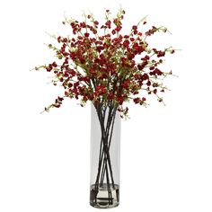 Red Giant Cherry Blossom Arrangement