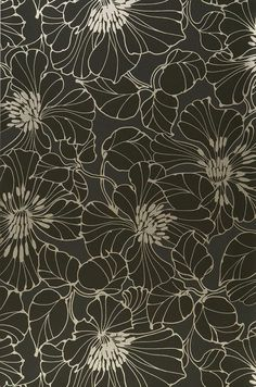Indra | Floral wallpaper | Wallpaper patterns | Wallpaper from the 70s http://animasi3d-desain.web.id