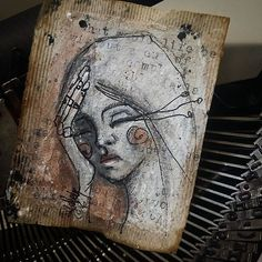 Thinking about stuff - latest number 148 i think Girls Bags, Recycled Art, Typewriter, Number, Recycle Art