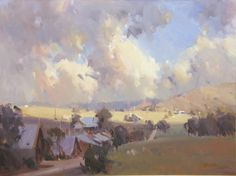 Clouds over Clunes