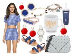 """coffee days"" by hillarymaguire ❤ liked on Polyvore featuring Zinke, Pamela Love, Monica Vinader, Alexander Wang, K. Jacques, Kate Spade, Shashi, Marc Jacobs and Iphoria"
