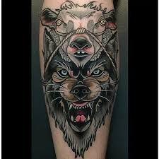Resultado de imagem para wolf in sheep's clothing tattoos