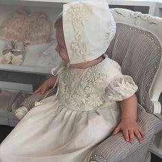 3 — Steven Khalil christening gown