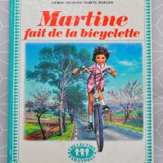 Martine fait de la bicyclette  - Pauline et paulette la boutique vintage : www.paulineetpaulette.fr