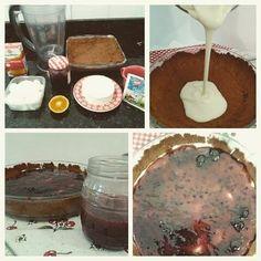 Cheesecake de kefir com geléia caseira #creamcheesedekefir #cheesecake #kefir #probiotics #probiotico #dessert #receita #recipe #receitadecheesecake  http://ift.tt/1TPaQV0 by monica.constantino http://ift.tt/1X6auO6