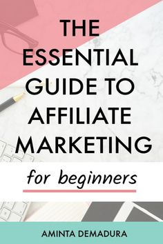 Affiliate marketing as a beginner isn't nearly as complicated as you might think! If you're a blogger and want to start making money from your blog, creating passive income through affiliate marketing is a great idea! It works in nearly every niche, and is simple to get started. Check out this complete guide to affiliate marketing 101 here. #affiliatemarketing #bloggingforbeginners #bloggingtips Affiliate Marketing, Marketing Program, Digital Marketing Strategy, Business Marketing, Internet Marketing, Content Marketing, Online Marketing, Business Tips, Marketing Training