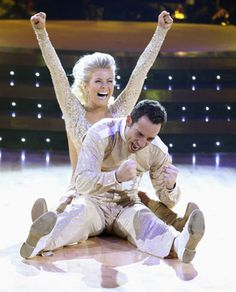 Julianne Hough & Helio Castroneves  -  Dancing With the Stars  -  season 5 champs  -  fall 2007