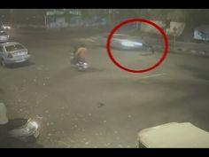 Shocking Footage Of Mercedes Hit-And-Run In Delhi That Killed A 32-Yr-Ol...