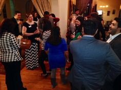 February 2015 NYP Connect Event at Cafe do Brasil