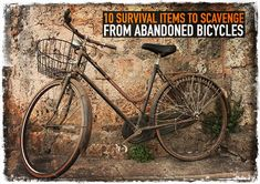 10 Survival Items to Scavenge from Abandoned Bicycles