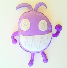 Personalized Gift Toy Monster Plush Kids Drawing Doll from