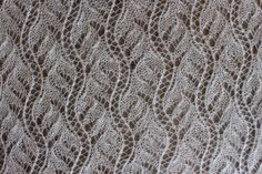 """Chinese Lace"" from A Second Treasure of Knitting Patterns by Baraba Walker"