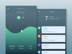 Summit Health App by Anggit Yuniar Pradito - Dribbble App Ui Design, User Interface Design, Ecg App, Tablet Ui, Daily Ui, Health App, Ios 7, Screen Design, Ui Inspiration