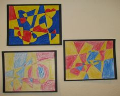 math shapes in art - Google Search