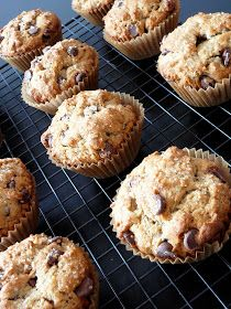 Baked Perfection: Banana Peanut Butter Chocolate Chip Muffins
