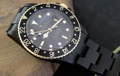 Blacked Out GMT-Master