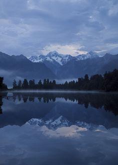 Lake Matheson reflection by David Bender on 500px