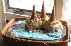 Sand Castle Cake by Autumn2May
