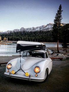 Porsche and other things. Porsche 356 Outlaw, Porsche 356 Speedster, Car In The World, Mans World, Vintage Cars, Antique Cars, Adventure Car, Cars Land, Vintage Instagram