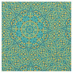 Shop Blue Orange Star Kaleidoscope Print Pattern Fabric created by stagingyournest. Moroccan Fabric, Pattern Fabric, Fabric Wallpaper, Linen Fabric, Blue Orange, Morocco, Decorating Your Home, Print Patterns, Tapestry