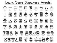 Learn Japanese and stuff~
