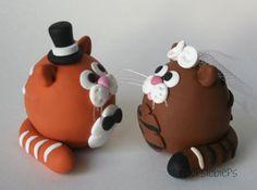 Cat Wedding Cake Toppers | Flickr: Intercambio de fotos