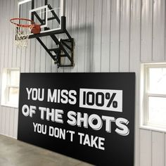 Sports Decals, Basketball Decal, Hockey Decal, Motivational Quotes, Inspiring Quotes, Gym, Gym Sign, Gym Decor, Home Gym, Decals, Stickers Wall Sticker, Wall Decals, Vinyl Decals, Hockey, Basketball, Sports Decals, Gym Decor, Discount Shopping, New Wall