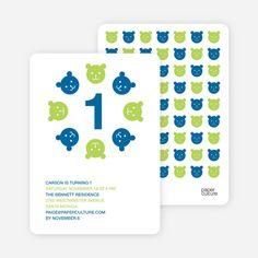 Teddy Bear Kaleidoscope Birthday Invite by Paper Culture Paper Culture, Elephant Theme, Birthday Invitations Kids, Tiny Prints, Paper Envelopes, Card Sizes, Creative Inspiration, Free Design, Invite