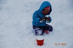 we literally have buckets of snow today! by Mt. Rose Ski Tahoe, via Flickr