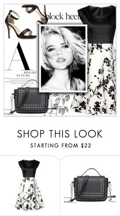 """""""Vintage"""" by mujkic-merima ❤ liked on Polyvore featuring vintage and rosegal"""