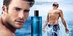 God Save the Queen and all: Scott Eastwood for Davidoff Cool Water #parfums #davidoff #coolwater #scotteastwood