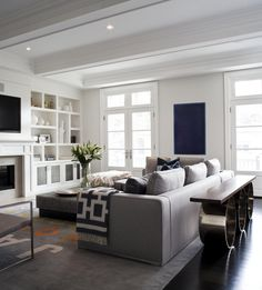 gorgeous white and open space! #design #interiordesign #decor