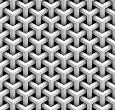 Seamless pattern of gray blocks