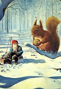 Christmas advent calendar from Sweden