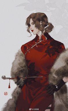 Shang [Y/N] is the concubine of Emperor Lu Xian of the Lu dynasty, sh… Boy Art, Art Girl, Character Design Tips, Japanese Artwork, Fun Comics, Aesthetic Art, Chinese Art, Asian Art, Cool Drawings