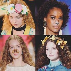 Desigual's SS17 Snapchat Make-Up Is Giving Us Costume Inspiration http://ift.tt/2bXfley #InStyleUK #Fashion