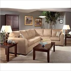Room colors and sectional
