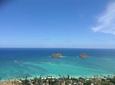 The view from Pillbox Hike  Kailua, HI