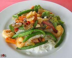 SOSCuisine: Sauté aux crevettes et aux légumes minute